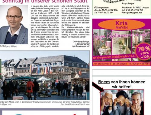 Start in den Frühling 2016 – Berichterstattung Blick Aktuell