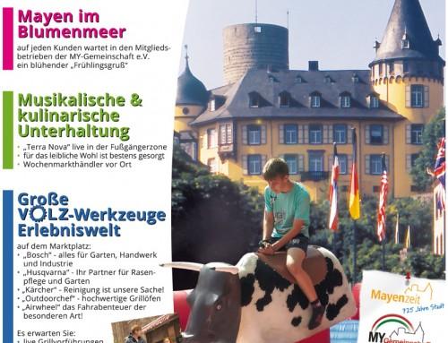 Start in den Frühling 2016 – Berichterstattung Wochenspiegel