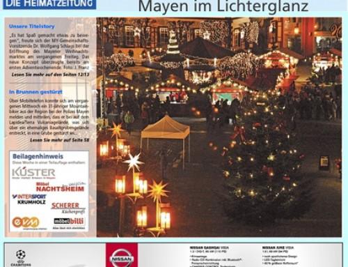 Mayener Weihnachtsmarkt 2015 – Berichterstattung Blick Aktuell
