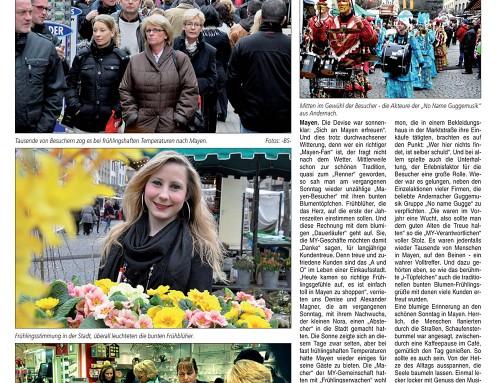 Start in den Frühling 2012 – Berichterstattung Blick Aktuell