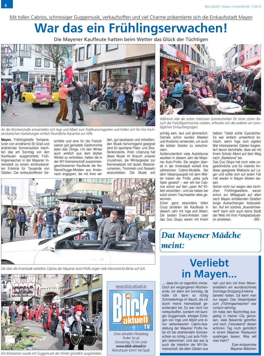Blick Aktuell, Ausgabe 11/2015