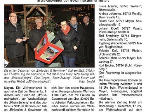 Mayen im Lichterglanz 2011 – Berichterstattung Blick Aktuell