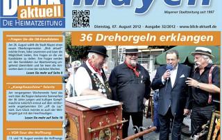 Blick Aktuell, Ausgabe 33/2012