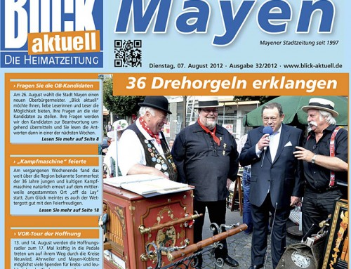 Drehorgelfestival 2012 – Berichterstattung Blick Aktuell
