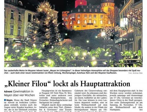 Mayen im Lichterglanz 2011 – Berichterstattung Rhein-Zeitung