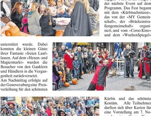Festival der Magie 2015 – Berichterstattung der lokalen Presse