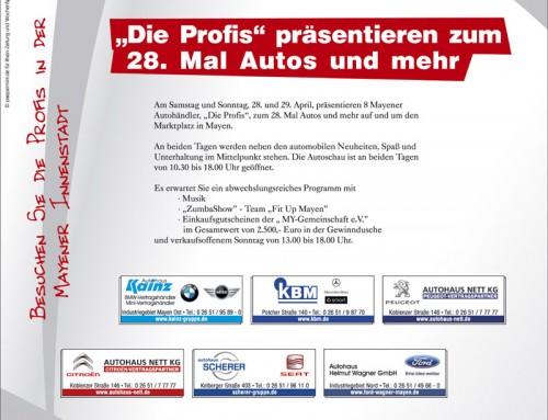 Autoschau 2012 – Berichterstattung WochenSpiegel
