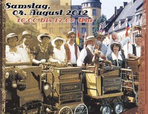 Drehorgelfestival 2012 – Berichterstattung WochenSpiegel