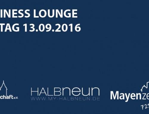 3. Mayener Business Lounge – ein gelungener, informativer Abend