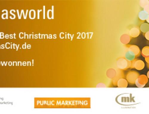 """Mayen hat gewonnen – Wettbewerb """"Best Christmas City"""" 2017"""