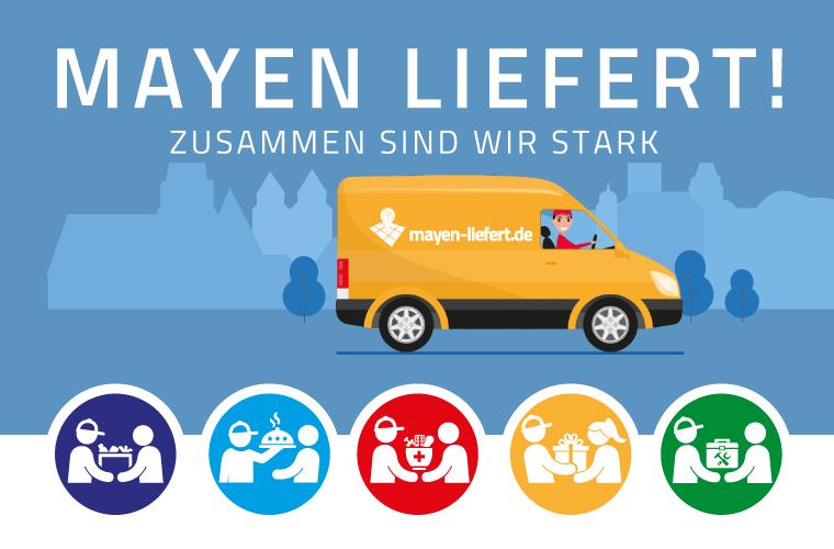Mayen liefert in der Corona-Zeit, www.mayen-liefert.de